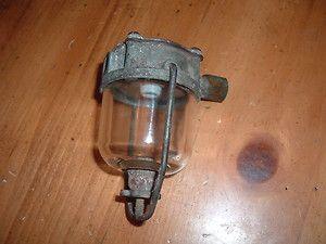 NOS Airtex glass bowl fuel filter