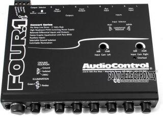 Four 1i FOUR1I in Dash Car Audio Equalizer EQ w Auxiliary Input