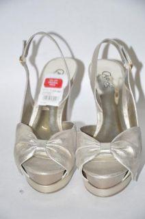 Carlos by Carlos Santana New Womens Platino Shoes Sz 9.5 nib $110 Free