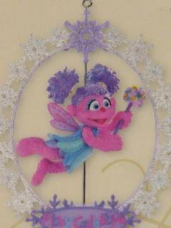 HTF Abby Cadabby Fairy Carlton Muppet Christmas Ornament Sesame street