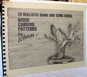 Wood Carving Patterns 20 Realistic Game and Song Birds Lehman