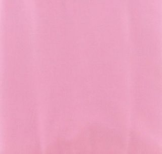 Handcrafted Solid Carnation Pink Custom Curtain Valance from Kona