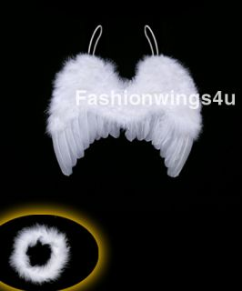 6M Newborn Baby Feather Wings Infant Angel Photo Prop