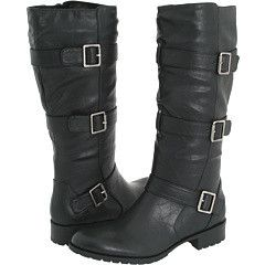 New Naturalizer Caro Black Strap Buckle Tall Boots 6 5 M