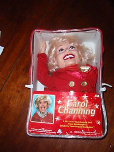 2006 Goldberger Carol Channing Ventriloquist Doll Dummy Puppet In