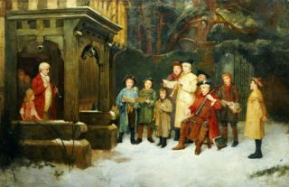 William M Spittle Carol Singers Music Christmas