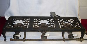 Griswold 603 Cast Iron 3 Three Burner Gas Stove Great for Camping