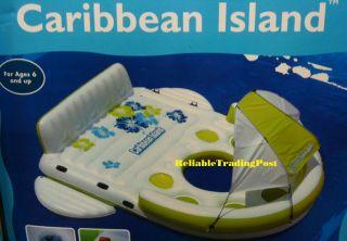 Sofina 6 Person Caribbean Island Inflatable Raft Float