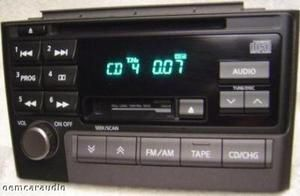 2001 2002 2003 Nissan Maxima Radio Tape CD Player 00 03 01 02