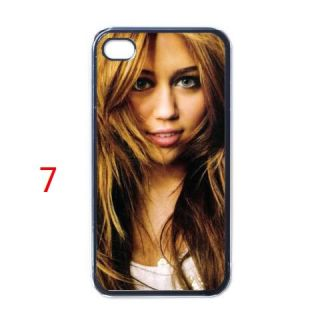 NEW MILEY CYRUS IPHONE 4 HARD CASE CUSTOM DESIGN