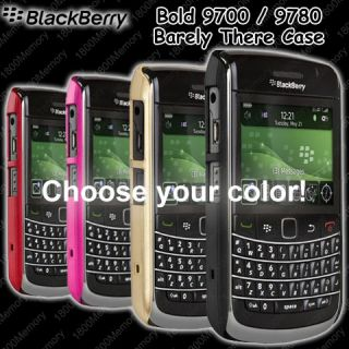 Case Mate Barely There Case for BlackBerry 9700 9780 Slim Cover Choose