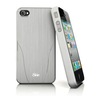click an image to enlarge iskin aura case for apple iphone 4s 4 silver