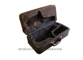 This case will fit curved soprano saxophone with removable neck.