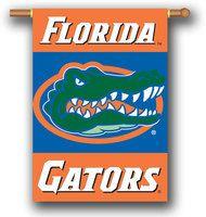 Florida Gators 2 Sided 28 x 40 Banner House Flag w Pole Sleeve