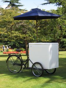 ice cream bike bicycle trike tricycle vending trade catering trailer