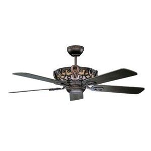 Ceiling Fan 52 Inch Remote Control Opt Antique Design Concord Light