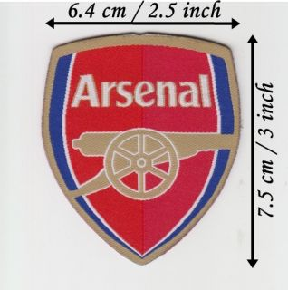Arsenal F C Iron on Patch Transfer Sew on Logo Badge