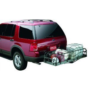 Lund 601007 Cargo Net Tie Down For Use w Hitch Mounted Cargo Carriers