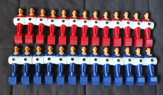 Blue Red Tornado Foosball Table Feet Style Carrom Players Men