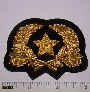 Civil War Army Cavalry Hat Cap Collar Uniform Officer Star Rank