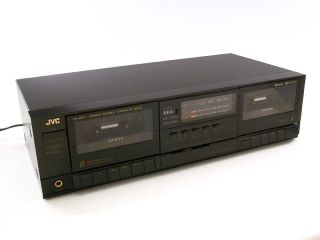 JVC TD W111 Stereo Dual Cassette Deck Tape Player / Recorder