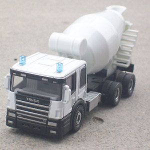 Cement Car Toy Concrete Mixer Wheels Truck Alloy Model