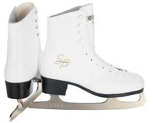 New CCM Pirouette Ice Figure Skates Girls Size 9