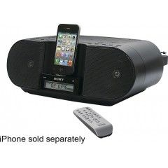 Insignia  CD Boombox with FM Radio and Apple iPhone and iPod Dock NS