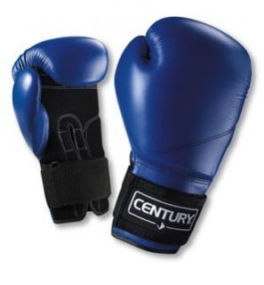 Century Martial Arts Bag Training Gloves Blue Black Brand New Free