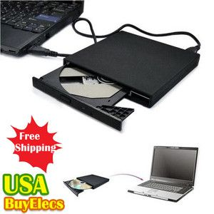 USB External CD ROM Drive Fr Dell Netbook Inspiron Mini IBM ThinkPad