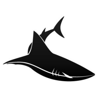 Scuba Dive Decal Sticker Cartoon Vinyl Shark ZZ7RS