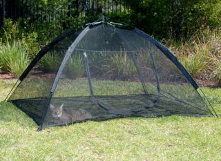 Up Mesh Tent Outdoor Cat Pet Small Animal Enclosure abg 10672