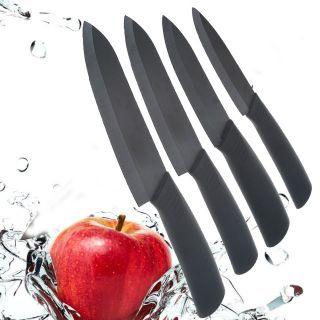 Peeler+ Knife Holder Ultra Sharp Kitchen Ceramic Cutlery Knives Set