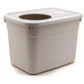 Clevercat Top Entry Heavy Duty Litterbox Cat Litter Box