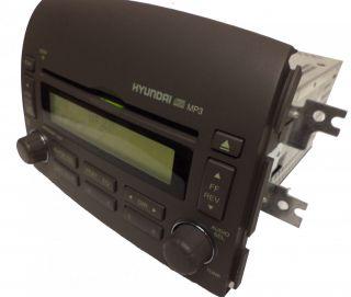 Hyundai Sonata Radio Stereo  CD Disc Player Gray VP5HBF 18C869 BG