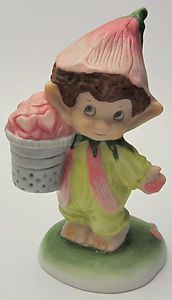 1983 Hallmark Cards Inc Lovelets Love A Plenty Tiny Pixie Figurine