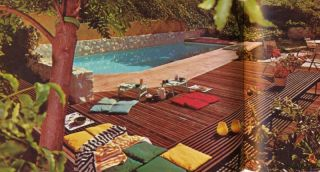 1972 Mid Century Home Landscaping Guide Modern Old School Design Ideas