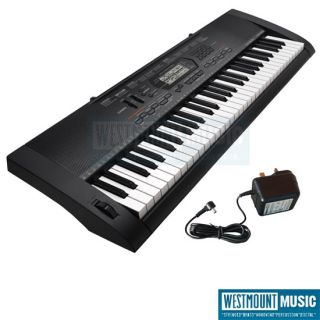 New Casio CTK 3000 Keyboard (61 full sized touch sensitive keys) + AC