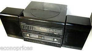 Belt Drive I T Hi Fi Ceramic Cartridge Record Player AM FM Cassette