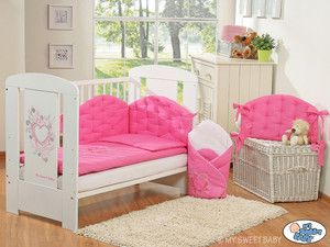 Chambre Collection Chic Comprend 5 Pièces Fuchsia Rose