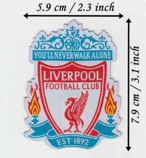 Liverpool F C Iron on Patch Transfer Sew on Logo Badge