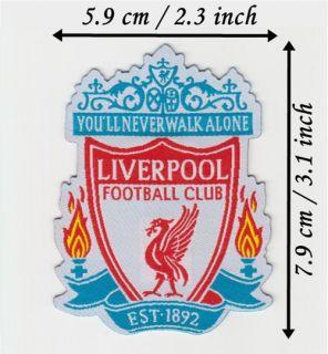 Liverpool F C Iron on Patch Transfer Sew on Logo Badge
