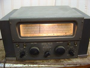National NC 46 High Frequency Receiver Shortwave Radio Communications