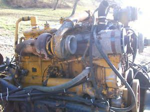 Caterpillar 3406B Diesel Truck Engine 400 HP Cat