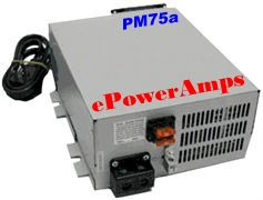 75 Amp Power Supply CB Ham Radio Linear Amplifier 12 13 8 Volts