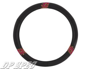 Central Michigan Chippewas Genuine Leather Steering Wheel Cover
