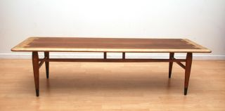 Lane Coffee Table Acclaim Series Dove Tail Mid Century