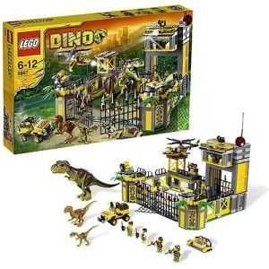 LEGO Dino Defense HQ Set 5887 Mint in the Box  in the US