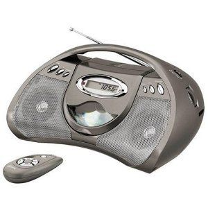 New 11 GPX Portable CD Player Radio Boombox  Remote