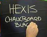 Black Chalkboard Adhesive Backed Vinyl Decal Removable